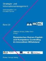 Dynamisches Human-Capital- und Kompetenz-Controlling im innovativen Mittelstand (HC-KC)