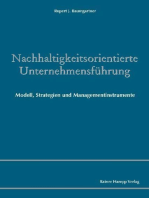 Nachhaltigkeitsorientierte Unternehmensführung