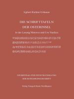 DIE SCHRIFTTAFELN DER OSTERINSEL
