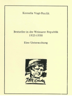 Bestseller in der Weimarer Republik 1925-1930