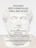 Aristoteles Erklärungen