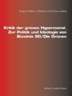 Kritik der grünen Hypermoral.