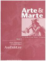 Arte & Marte. In Memorian Hans Schmidt - Eine Gedächtnisschrift seines Schülerkreises / Aufsätze