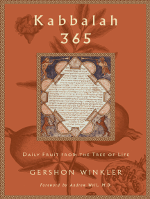 Read Kabbalah 365 Online By Gershon Winkler Books The tree of life, or etz hachayim (עץ החיים) in hebrew, is a classic descriptive term for the central mystical symbol used in the kabbalah of esoteric judaism, also known as the 10 sephirot, and the 22 paths.the tree, visually or conceptually. scribd