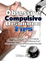 Obsessive Compulsive Disorder Tips