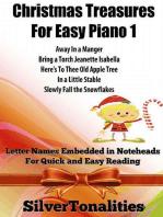 Christmas Treasures for Easy Piano 1