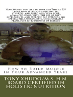 How to Build Muscle in Your Advanced Years