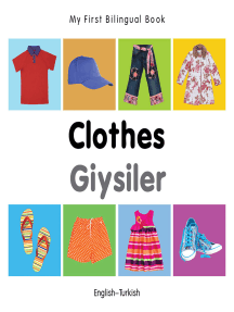 My First Bilingual Book–Clothes (English–Turkish)