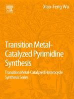 Transition Metal Catalyzed Pyrimidine, Pyrazine, Pyridazine and Triazine Synthesis