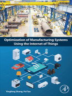 Optimization of Manufacturing Systems Using the Internet of Things