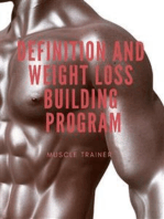 Definition and Weight Loss Building Program