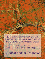 Do Not Give Up Your Favorite Sport, Because You Are Growing Old !