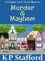 Murder & Mayhem - A Cryptic Cove Cozy Mystery - Book 1