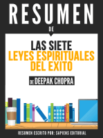 Las 7 Leyes Espirituales del Exito (The 7 Spiritual Laws of Success)