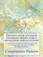 Do Not Give Up Your Favorite Sport For A Shoulder Dislocation !