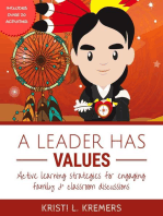 A Leader Has Values