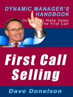 First Call Selling