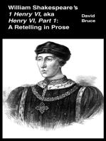 """William Shakespeare's """"1 Henry VI,"""" aka """"Henry VI, Part 1"""""""