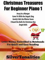 Christmas Treasures for Beginner Piano 1