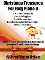 Christmas Treasures for Easy Piano 6