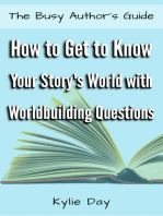 How to Get to Know Your Story's World with Worldbuilding Questions