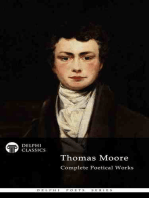 Delphi Complete Poetical Works of Thomas Moore (Illustrated)