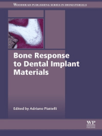 Bone Response to Dental Implant Materials
