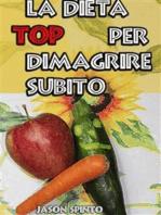La Dieta TOP per Dimagrire Subito