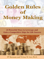 Golden Rules of Money Making