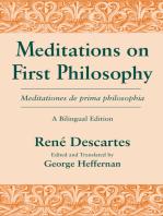 Meditations on First Philosophy/ Meditationes de prima philosophia