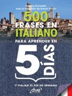500 frases en italiano para aprender en 5 días