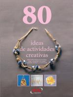 80 ideas de actividades creativas