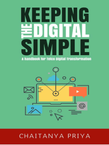 Keeping the Digital Simple: A Handbook for Telco Digital Transformation