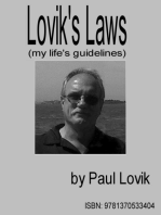 Lovik's Laws (my life's guidelines)