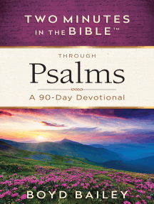 Two Minutes in the Bible™ Through Psalms: A 90-Day Devotional