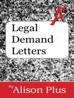 Legal Demand Letters: A+ Guides to Writing, #10