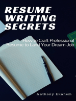 Resume Writing Secrets