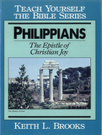 Philippians- Teach Yourself the Bible Series