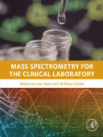 Mass Spectrometry for the Clinical Laboratory