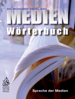 Medien Wörterbuch: Sprache der Medien, Deutsch - Arabisch mit Lautschrift