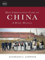 How Christianity Came to China