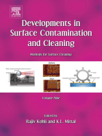 Developments in Surface Contamination and Cleaning