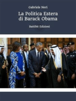 La Politica estera di Barack Obama