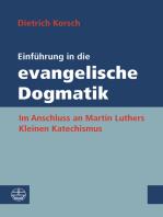 Einführung in die evangelische Dogmatik