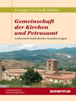 Gemeinschaft der Kirchen und Petrusamt