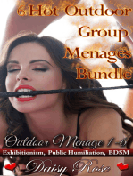 6 Hot Outdoor Group Menages Bundle