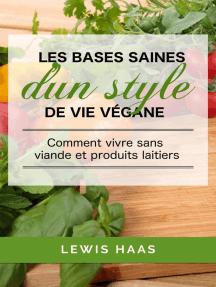 Les bases saines d'un style de vie végane: comment vivre sans viande et produits laitiers