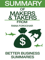 Makers and Takers | Summary