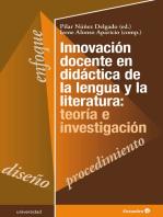 Innovación docente en didáctica de la lengua y la literatura: teoría e investigación