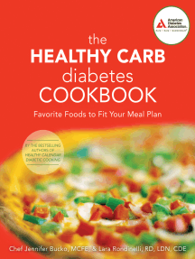 The Healthy Carb Diabetes Cookbook: Favorite Foods to Fit Your Meal Plan